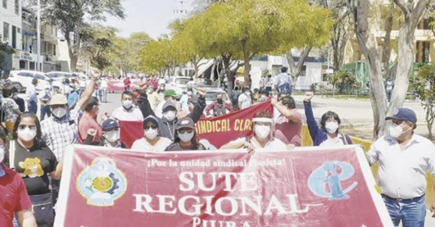 Ningún docente regresará a las aulas si no hay vacuna, advirtió dirigente del SUTEP Piura, Juana Rosa Ordinola