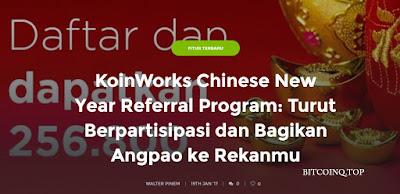 Giveaway Imlek - Dapat Uang Rp.256.800 dari Koinworks Terbukti Membayar