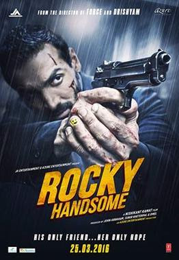 Download Rocky Handsome (2016) Hindi Full Movie HDRip 480p [350MB]   720p [900MB]