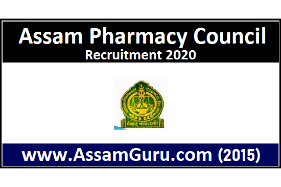 Assam Pharmacy Council Job 2020