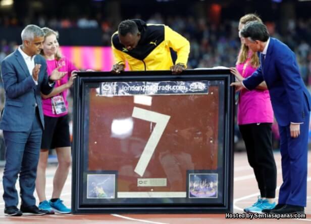 Usain Bolt Bersara