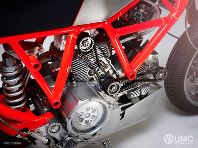Ducati Scrambler custom engine by Untitled Motorcycles