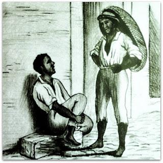 Entre Dois Captivos (Escravos) - Museu de Porto Alegre