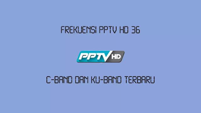 Frekuensi PPTV HD 36 C-Band dan Ku-Band Terbaru
