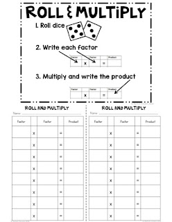Multiplication games every student will love in your classroom!