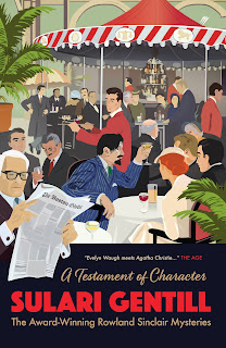 A Testament of Character by Sulari Gentill book cover