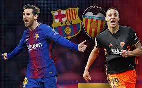 Match Barcelone vs Valence 0-2