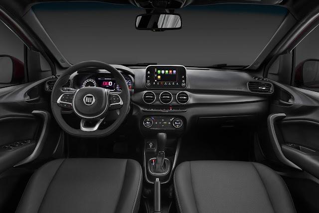 Fiat Cronos 2020 HGT 1.8 Automático - interior