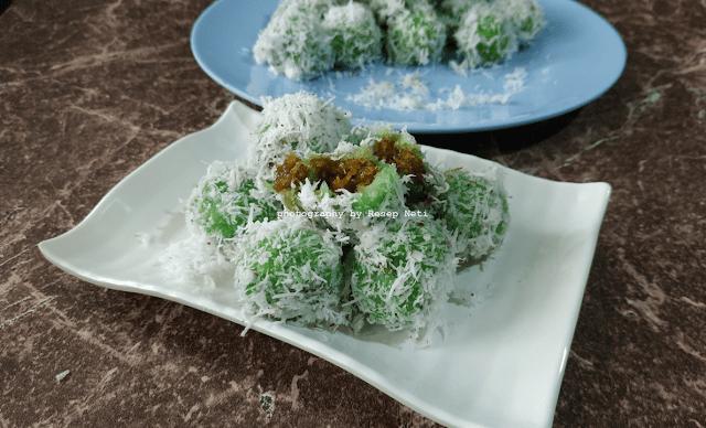 Klepon Singkong isi Gula Merah