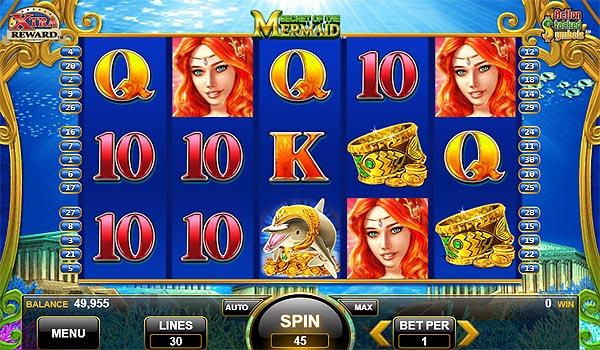 Main Gratis Slot Indonesia - Secret of the Mermaid Konami