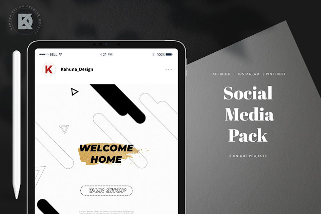 Sale %2526 Quote Social Media Pack..