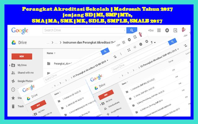 Download Prangkat Akreditasi Sekolah Untuk Semua Jenjang Versi Terbaru