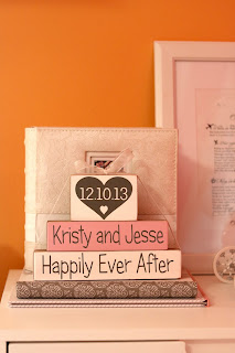 Custom Wedding Date Blocks - Unique Personalised Wedding Gift Ideas