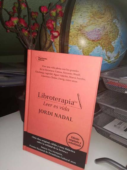 Portada de Libroterapia de Jordi Nadal