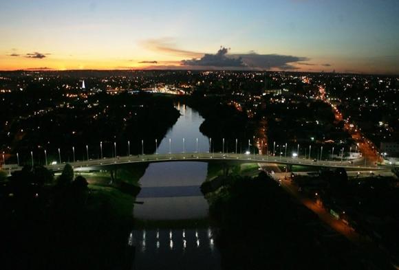 Ponte sobre o rio Acre