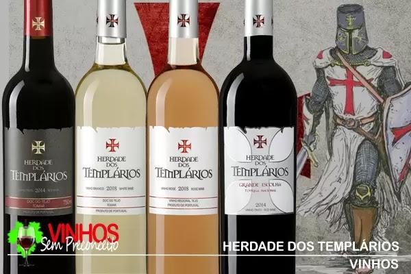 """Vinho """"Herdade dos Templários Grande Escolha"""", a Tradição Templária"""
