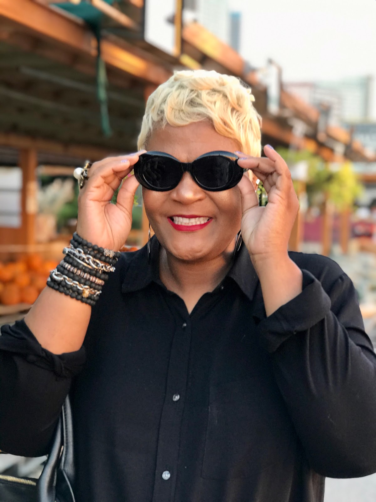 Tangie Bell is sharing how she wears shades to spice up her style