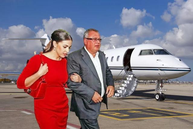 Андрей Костин и его дама сердца Ведущая телеканала «Россия 1» Наиля Аскер-заде