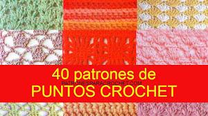 40 Patrones de Puntos Crochet