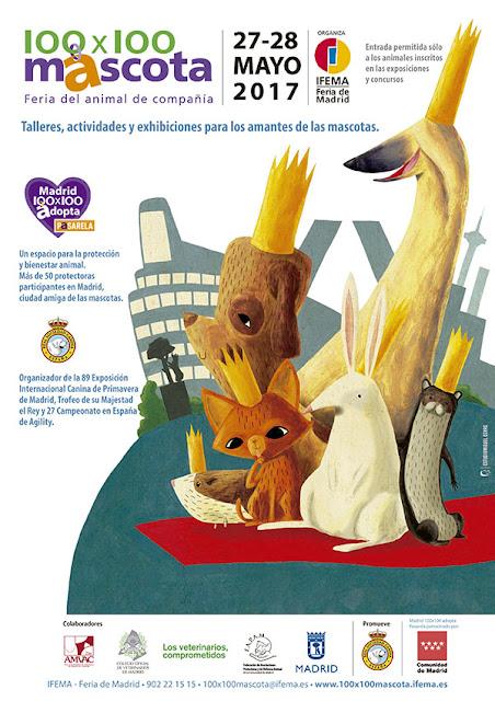 Madrid 100x100 Adopta, espacio que promueve el bienestar animal y la tenencia y adopción responsables. Ver. Oír. Contar.