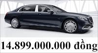 Giá xe Mercedes Maybach S650 2018