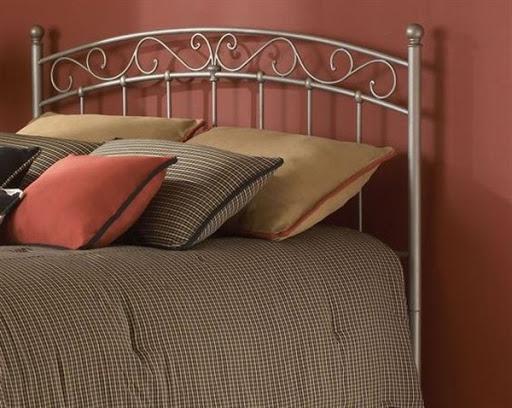 metal bed headboard