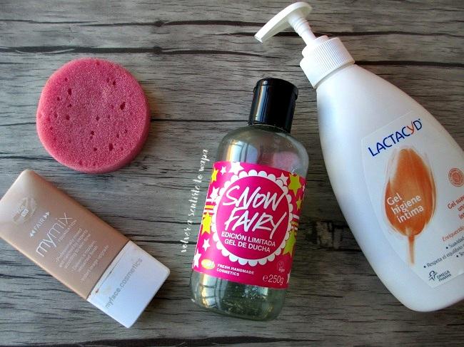 Productos beauty acabados de cuidado corporal