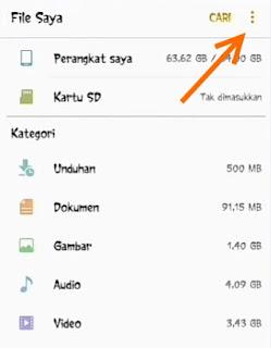cara mengambil status di whatsapp