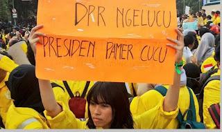 DPR melucu Presiden pamer cucu - pustakapengetahuan.com
