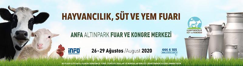 4.Hayvancılık Süt ve Yem Fuarı 26-29 Ağustos 2020