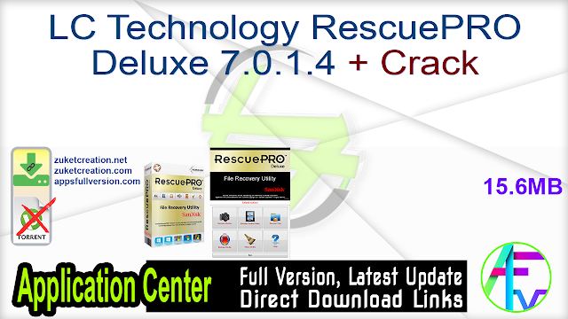 LC Technology RescuePRO Deluxe 7.0.1.4 + Crack
