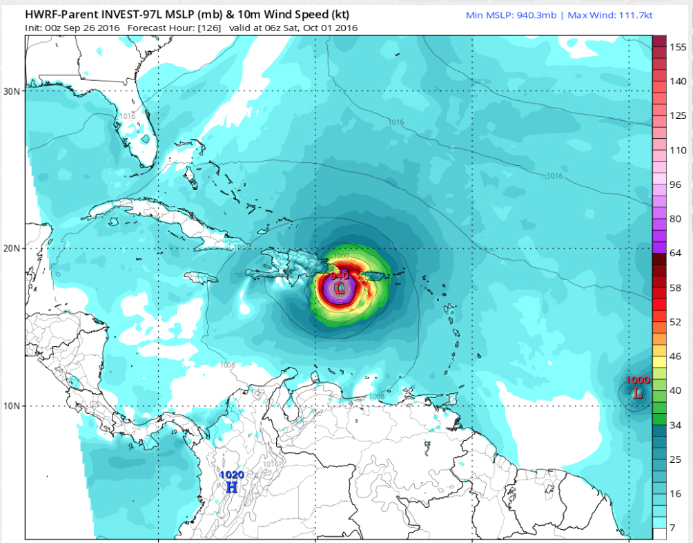 will matthew threaten the usa
