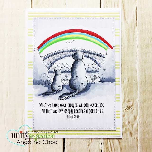 ScrappyScrappy: [NEW VIDEO] DT Blog Hop with Unity Stamp #scrappyscrappy #unitystampco #phyllisharris #card #cardmaking #stamp #stamping #katscrappiness #dogcat #blackandwhite #friendship #copic #papercraft #youtube #quicktipvideo #processvideo