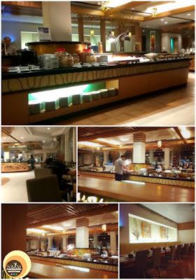 Taman Sari Brassiere Restaurant's Interior Design, Hotel Istana, Kuala Lumpur