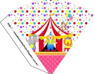 El Circo Especial Niñas: Imprimibles Gratis para Fiestas.