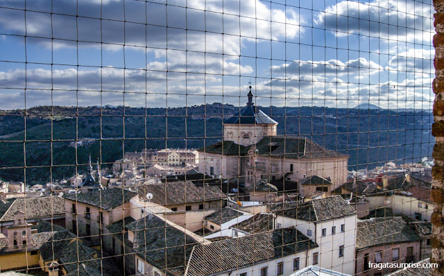 Toledo vista da torre da Igreja dos Jesuítas