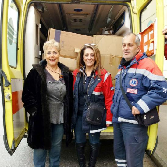 Παραδόθηκε Υγειονομικό υλικό δωρεά της Αυτοκινητόδρομος Αιγαίου Α.Ε. στο ΕΚΑΒ Κατερίνης