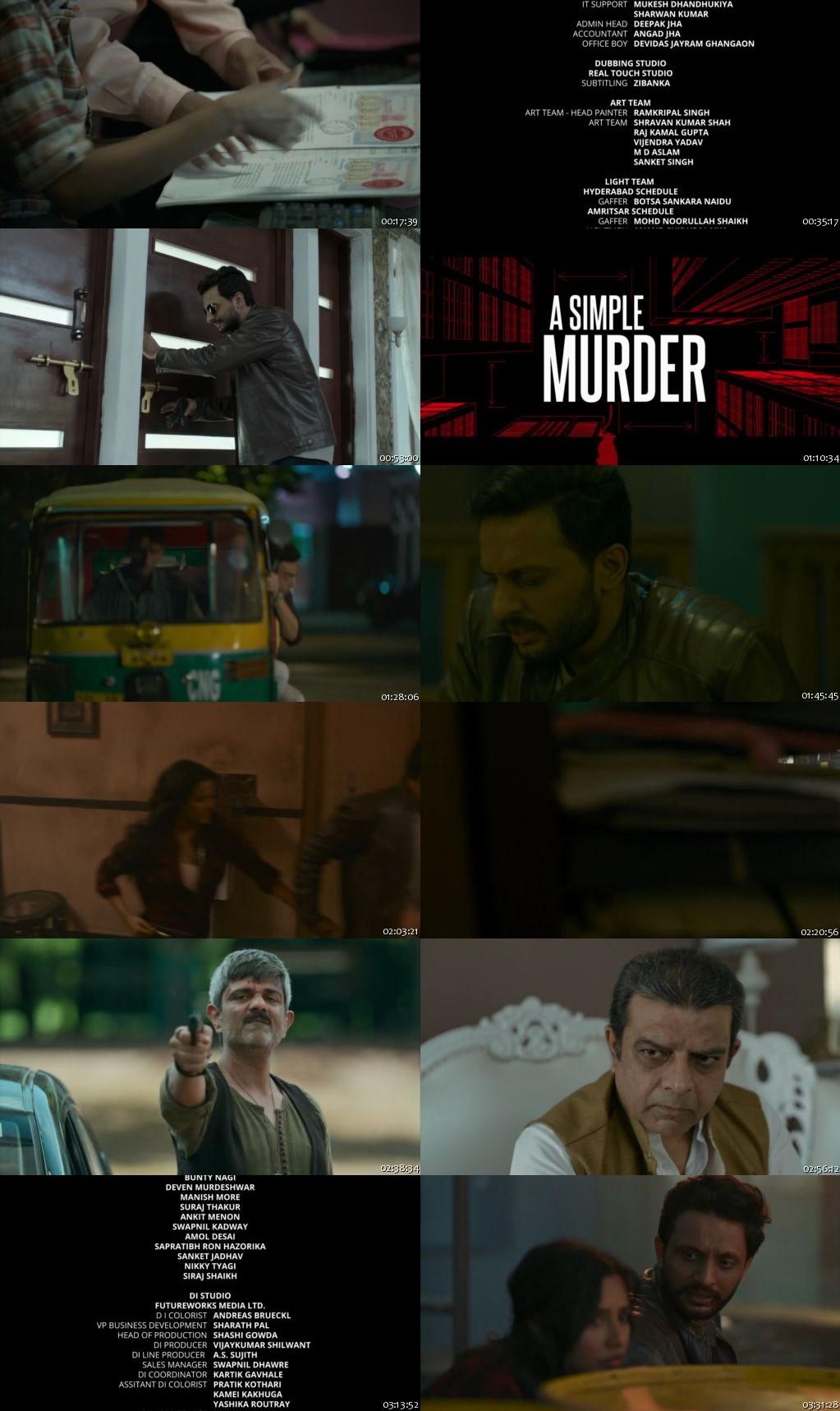 A Simple Murder 2020 All Episodes HDRip 720p [Season 1]