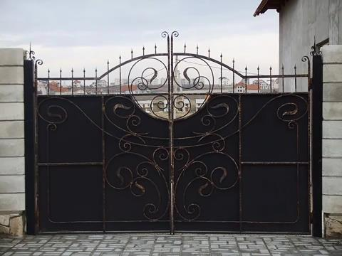 Iron And Steel Gate Design