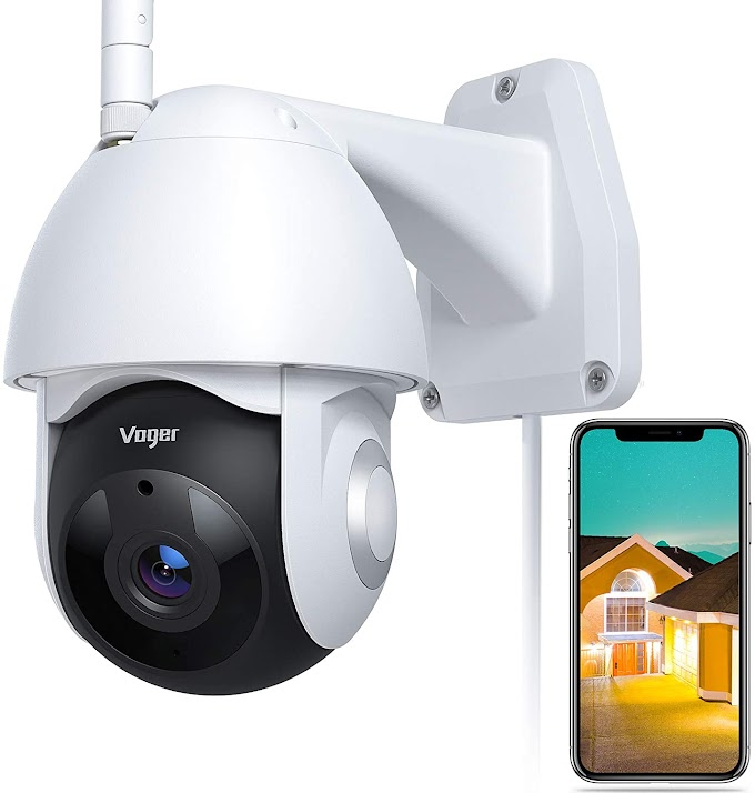 Security Camera Outdoor Voger 360° View WiFi Home