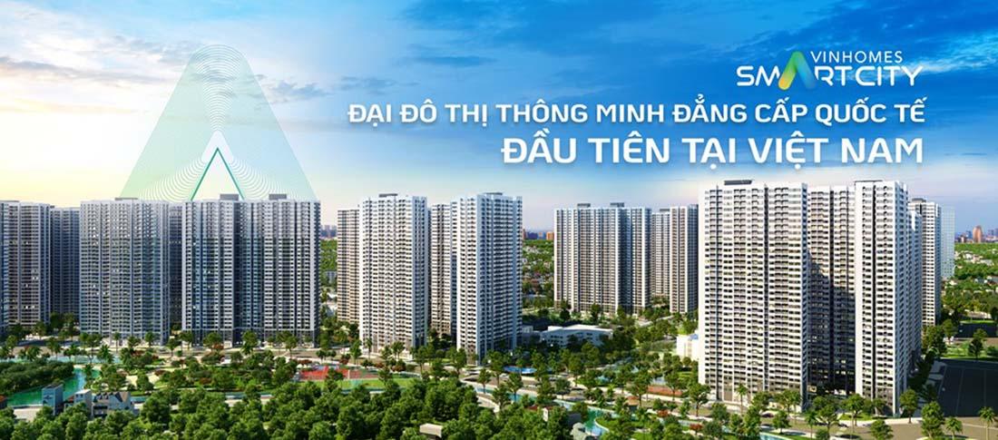 Cho thuê căn hộ Vinhomes Smart City Tây Mỗ