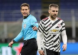 Luke Shaw admits Man Utd were awful in first half of their victory at AC Milan