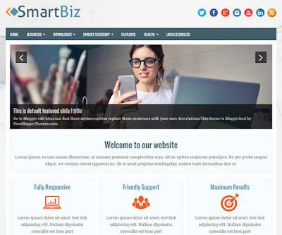 SmartBiz Blogger Template