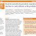 A sensibilidade à insulina prediz declínio cognitivo em indivíduos com pré-diabetes.