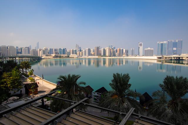 Panorama dalla Promenade-La Galleria mall-Abu Dhabi