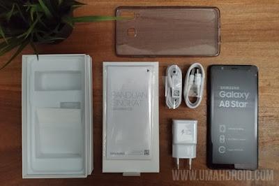 Paket Penjualan Samsung Galaxy A8 Star