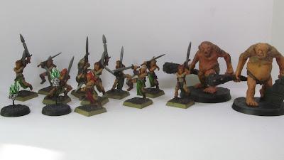 Wardancers, Flameskulls, Gundabad Ogres