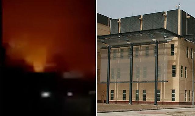 Attacco missilistico vicino all'ambasciata degli Stati Uniti a Baghdad