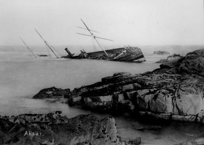 Wreck On St George Island