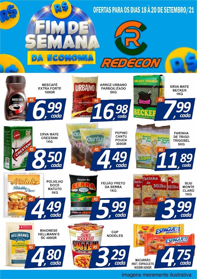 Redecon Supermercado - Ofertas para o final de semana